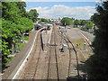 ST5616 : Yeovil Pen Mill railway station, Somerset by Nigel Thompson