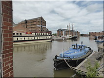 SO8218 : Gloucester Docks by Chris Allen