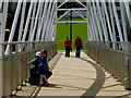 H4572 : Shadows, Omagh by Kenneth  Allen