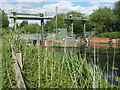 TL0748 : Above Cardington sluice gates by M J Richardson