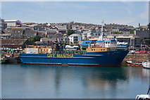 SW4730 : Gry Maritha in Penzance harbour by Guy Wareham