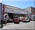 SN1746 : T.M.Daniel garage in Cardigan by Jaggery