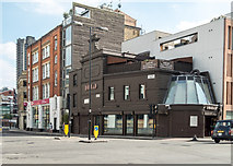 TQ3282 : Junction of Theobalds Road and Golden Lane, London, EC1 by Christine Matthews