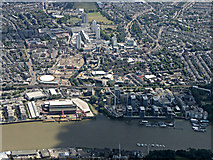 TQ2575 : Wandsworth from the air by Thomas Nugent