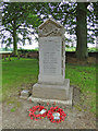 TG4310 : Stokesby with Herringsby War Memorial by Adrian S Pye