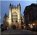ST7564 : Bath Abbey - West Front by Rob Farrow