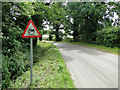 TM3996 : Non-standard official road sign by Adrian S Pye