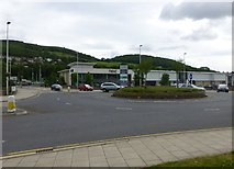 NT4935 : Gala Water Retail Park by Russel Wills