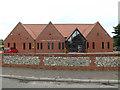 TM0081 : Garboldisham Village Hall by Adrian Cable