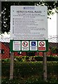 SO9063 : The do's and don'ts of Heriotts Pool, Droitwich Lido, Droitwich Spa, Worcs by P L Chadwick