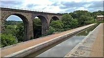 SJ9590 : Marple Aqueduct by Chris Morgan