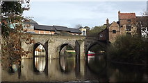 NZ2742 : Elvet Bridge, Durham by John Welford