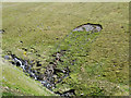 NY3027 : Landslip beside Roughten Gill by Trevor Littlewood