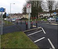 ST3096 : Edlogan Way traffic calming, Croesyceiliog, Cwmbran by Jaggery