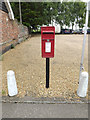 TM0481 : Post Office The Street Postbox by Adrian Cable