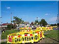NZ2372 : Excavations on Stalks Road by Trevor Littlewood