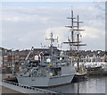 J5082 : Two ships at Bangor by Rossographer