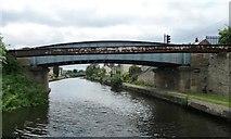 SE5023 : Shepherd's Bridge, Knottingley, looking west by Christine Johnstone
