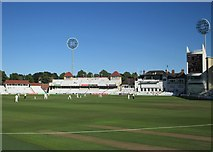 SK5838 : Trent Bridge: towards the end of the second day by John Sutton