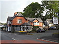 SN9079 : Black Lion Hotel, Llangurig by Adrian Cable