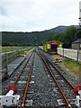 SH5859 : End of the line at Llanberis by Richard Hoare