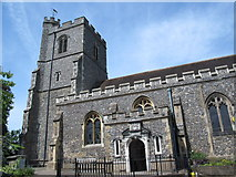 TL3706 : The Church of St. Augustine, Broxbourne by Mike Quinn