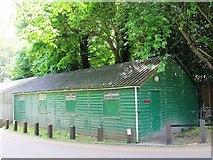TL3706 : Green hut near the end of Mill Lane, EN10 by Mike Quinn