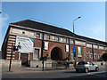 TQ3977 : Former Arches Leisure Centre, Greenwich - east end by Stephen Craven