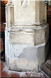 TL4731 : St Mary & St Clement, Clavering - Graffiti by John Salmon