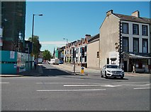 J3472 : University Street at its junction with Lower Ormeau Road by Eric Jones