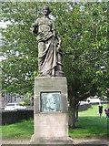 NT9953 : Philip Whiteside Maclagan [1818-1892] by M J Richardson
