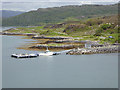 NM6385 : New jetty at Rhumach by Oliver Dixon