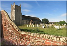 TM4160 : Church over the wall by Des Blenkinsopp