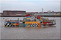 SJ3290 : MV Snowdrop, River Mersey by El Pollock