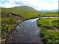 NN2741 : Allt Tolaghan, near Bridge of Orchy by Malc McDonald
