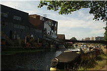 TQ3784 : View of London Tradition from the River Lea Navigation #3 by Robert Lamb
