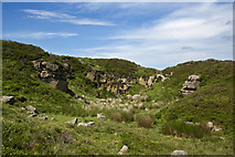 SD7148 : A disused quarry by Ian Greig