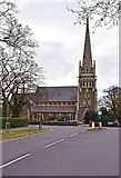 SU7272 : Christ Church, Christchurch Road, Reading by P L Chadwick