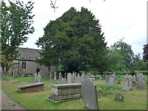 ST9383 : Holy Rood, Rodbourne: churchyard (a) by Basher Eyre