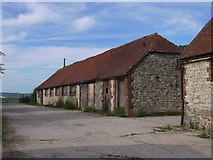 SU8518 : Farm outbuildings at Church Farm, Bepton by Stefan Czapski