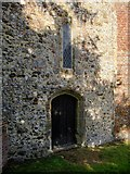 SU8518 : Bepton church: the west door by Stefan Czapski