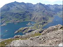 NG4919 : View from the summit of Sgurr na Stri by Oliver Dixon