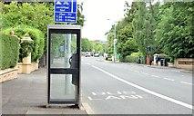 J3271 : Telephone box, Malone Road, Belfast (July 2015) by Albert Bridge
