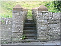 NY7203 : Footpath entry in Ravenstonedale by David Purchase