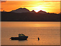 NG7003 : Sunset over the Sound of Sleat by Oliver Dixon