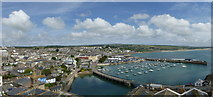 SW4730 : Penzance Harbour panorama by Rod Allday