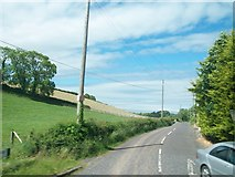 J3558 : Bresagh Road running west from the A24 by Eric Jones