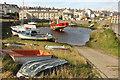 SN5881 : Aberystwyth Harbour by Richard Croft