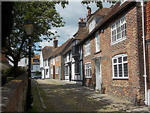 TQ9220 : Rye: eastern side of Church Square by Chris Downer
