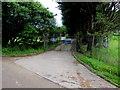 SN3711 : Entrance to Ferryside 4 sewage treatments works, Ferryside by Jaggery